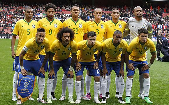 Brasil ya tiene un pie y medio en el Mundial. (Foto: AFP)