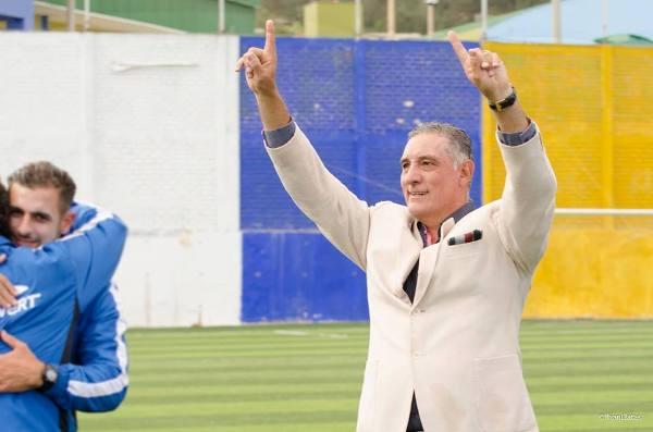 Viera llevó a Comerciantes a la Sudamericana en su primera temporada en Primera. (Foto: John Llatas)
