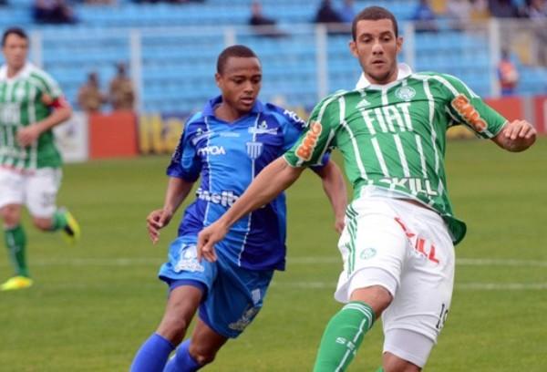 SITUACIÓN PELIGROSA.  Avaí sigue en puesto de descenso tras igualar 1-1 ante Palmeiras. (Foto: Ag.Estado)