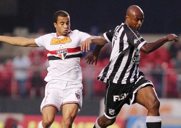 TAMBIÉN BRILLÓ. Sao Paulo fue otro de los grandes que despertó esta jornada y venció con autoridad al Ceará por 4-0. (Foto: Vipcomm)