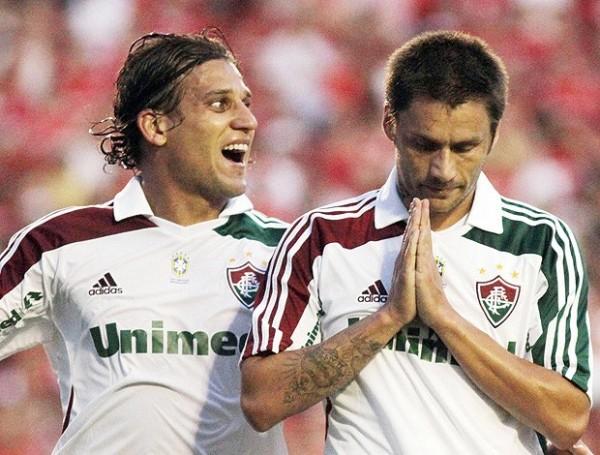 SIGUE EN LA PELEA. Fluminense se impuso en condición de visita 1-2 ante el Inter y todavía sueña con hacerse del campeonato. (Foto: AGENCIA ESTADO)
