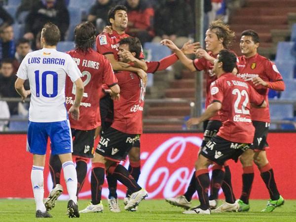 COMO EN CASA. Mallorca fue mejor y derrotó por la mínima diferencia a Zaragoza en condición de visita. (Foto: Marcamedia)