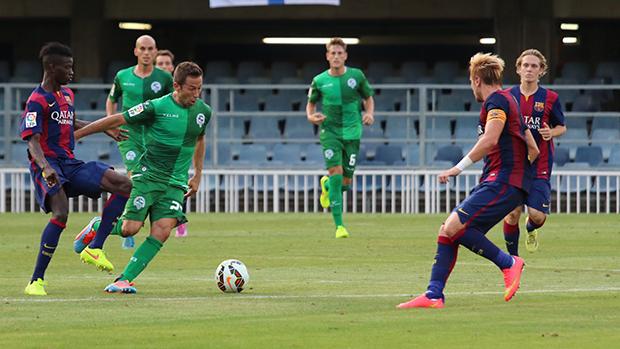 Barcelona B venció 3-1 al Sabadell (Foto: cssabadell.cat)