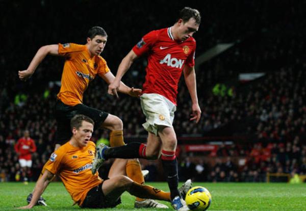 QUIERE RECUPERAR EL NIVEL. Tras su sorpresiva eliminación de la Champions, el Manchester United no tuvo piedad del Wolverhampton y lo goleó por 4-1. (Foto: Premierleague.com)