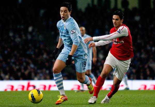 NADA LOS DETIENE. El Manchester City continúa como puntero tras vencer por la mínima diferencia al Arsenal. (Foto: PremierLeague.com)