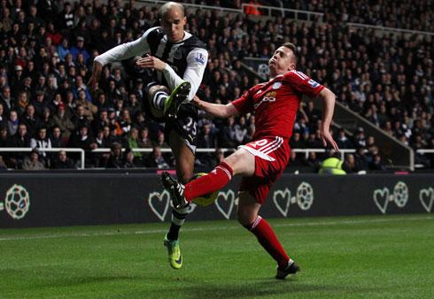 CAÍDA LIBRE. El Newcastle no puede salir de su mal momento y volvió a caer derrotado. En esta oportunidad el West Bromwich se impondrías por 2-3. (Foto: PremierLeague.com)