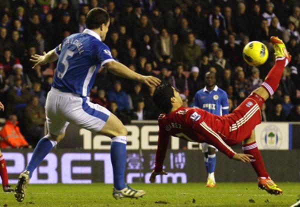 NO ES CASUALIDAD. El Wigan volvió a sorprender a otro grande. En esta oportunidad igualó 1-1 ante el Liverpool. (Foto: PremierLeague.com)