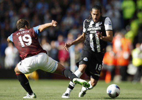PERDIERON EL PASO. El Newcastle perdió la ocasión de seguir cerca a los primeros puestos tras igualar 1-1 en su visita al Aston Villa. (Foto: premierleague.com)