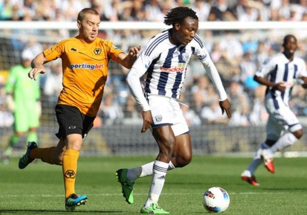 SALEN A FLOTE. El West Bromwich salió de los últimos lugares tras imponerse con autoridad 2-0 al Wolverhampton. (Foto: Premierleague.com)