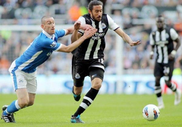 SE ABRE PASO. El Newcastle se impuso por 1-0 al Wigan y continúa en los primeros lugares de la tabla. (Foto: Premierleague.com)