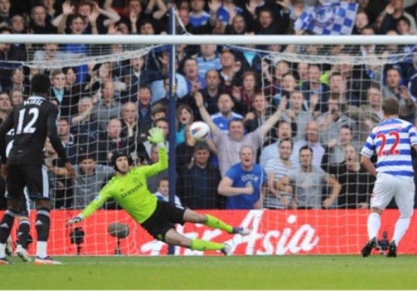 SORPRESA INGLESA. El Queens Park Rangers dio cuenta del Chelsea al vencerlo por la mínima diferencia.  (Foto: Premierleague.com)