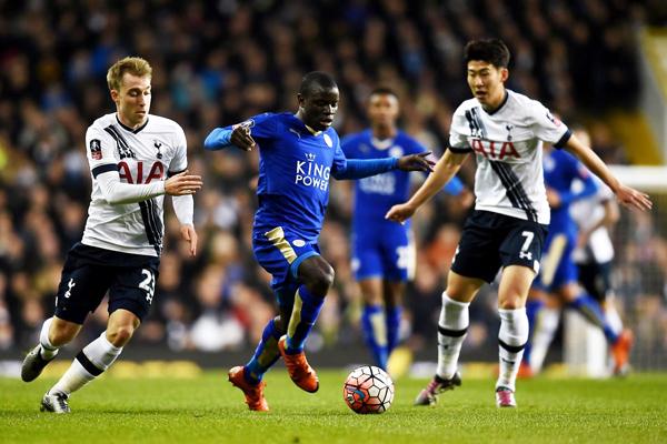 Leicester y Tottenham acabaron con el dominio de los equipos mediáticos. (Foto: AFP)