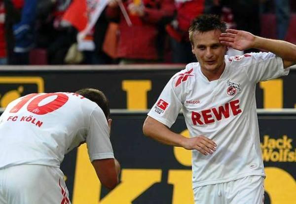 LA HORA LOCA. Colonia se impuso 3-0 al Augsburgo de la mano de Lukas Podolski. (Foto: Bundesliga.de)