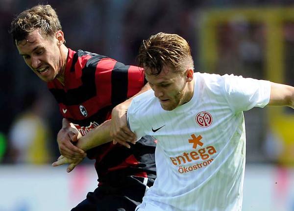 TOMA LA PUNTA. Mainz 05 dio cuenta de Friburgo y se hizo con el liderato de la Bundesliga (Foto: bundesliga.de)