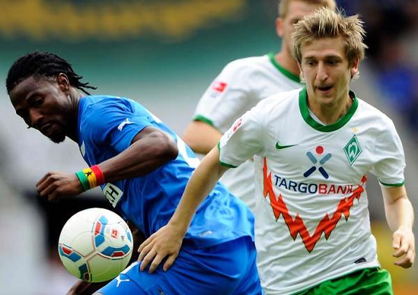 EN RACHA. El Werder Bremen, con Pizarro en la cancha, se impuso como visitante 1-2 al siempre complicado Hoffenheim. (Foto: Bundesliga.de)