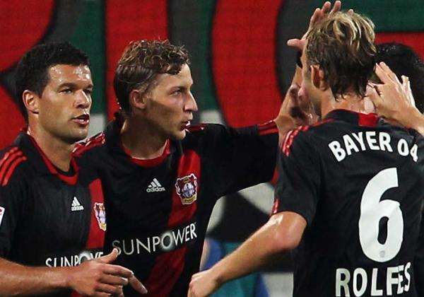 CON COMODIDAD. El Bayern Leverkusen no tuvo problemas para imponerse como visitante ante el  Augsburg. El 1-4 fue contundente. (Foto: bundesliga.de)