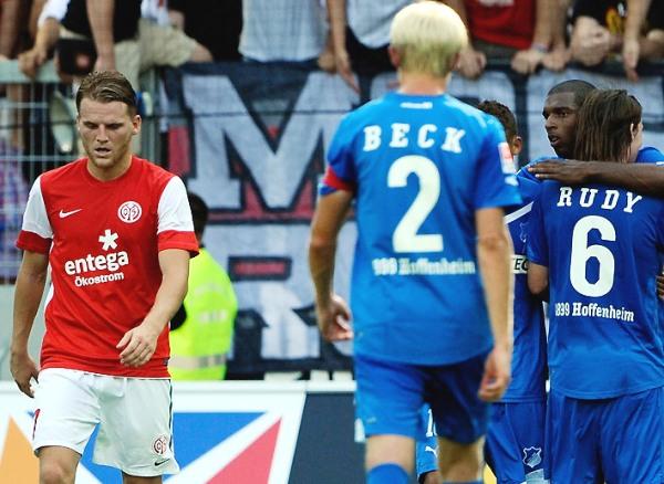 EN PICADA. Mainz sufrió una nueva caída, esta vez como local. Cayó derrotado 0-4 ante el Hoffenheim. (Foto: bundesliga.de)