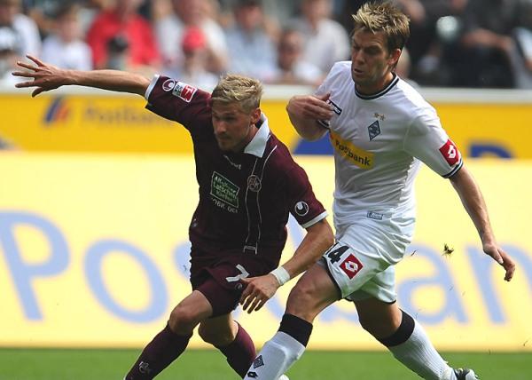 CON GANAS DE  TRIUNFAR. El Borussia Mönchengladbach se impuso por la  mínima al Kaiserslautern y se mantiene en los primeros lugares de la tabla de posiciones. (Foto: bundesliga.de)