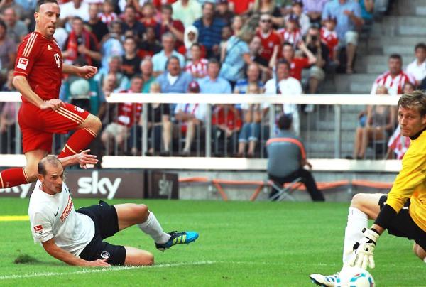 ¡QUÉ ABUSO! El Bayern continúa imparable en la Bundesliga. En esta fecha dio cuenta del Freiburg y lo goleó por 7-0. (Foto: bundesliga.de)