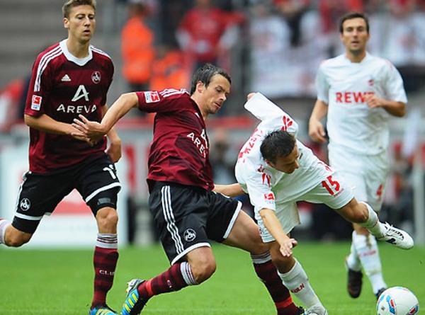 El Nürnberg sorprendió a Colonia y se impuso por 1-2. (Foto: bundesliga.de)