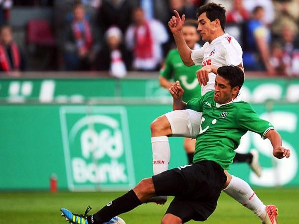 BUENOS COLONES. Colonia se impuso 2-0 al Hannover, club que se sigue quedando en la tabla tras un buen arranque. (Foto: Bundesliga.de)