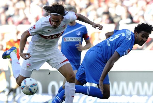 VALE EL ESFUERZO. El Stuttgart trepó hasta la cuarta ubicación tras vencer 2-0 al Hoffenheim. (Foto: Bundesliga.de)