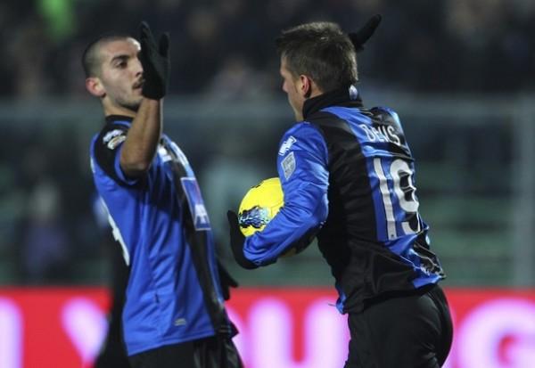 MÁS QUE TRES PUNTOS. Atalanta no tuvo piedad y goleó por 4-1 al Cesena. (Foto: AFP)