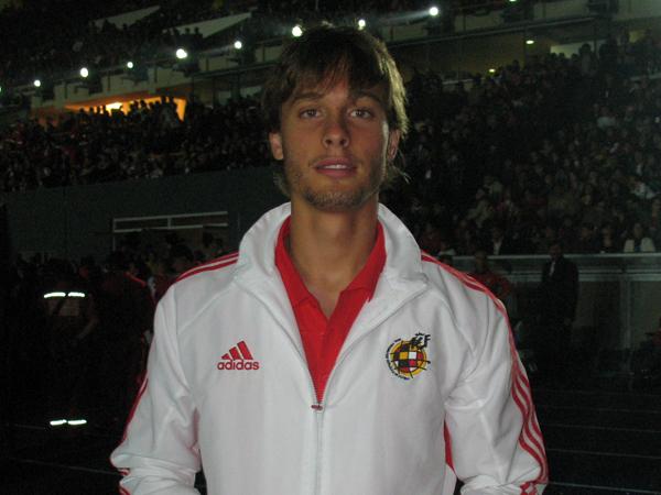 La gran figura de España se llama Sergio Canales, del Real Madrid, y recientemente vino a Lima para el amistoso ante la Sub-20 de Perú, aunque no jugó (Foto: José Salcedo / DeChalaca.com)