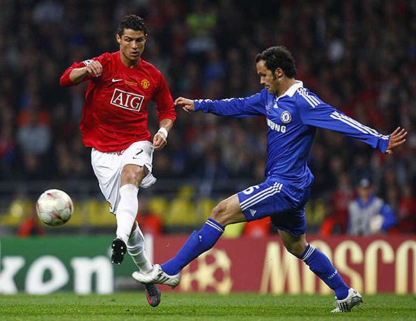Manchester United y Chelsea protagonizaron una final inglesa de Champions League. (Foto: AFP)