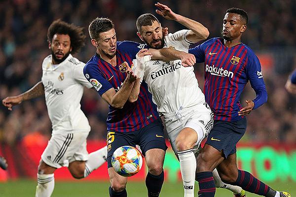 Los Barcelona - Real Madrid suelen tener mejor nivel que los demás partidos de la Liga. (Foto: AFP)