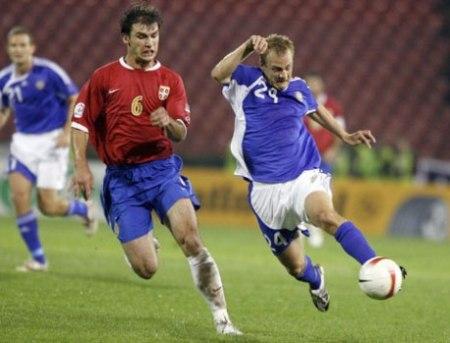 Desde hace dos años, Ivanovic es habitual en las convocatorias de la selección serbia (Foto: dailymail.co.uk)