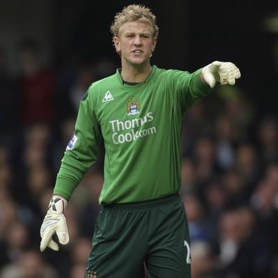 Ya consagrado como titular en el arco del Manchester City (Foto: football.co.uk)