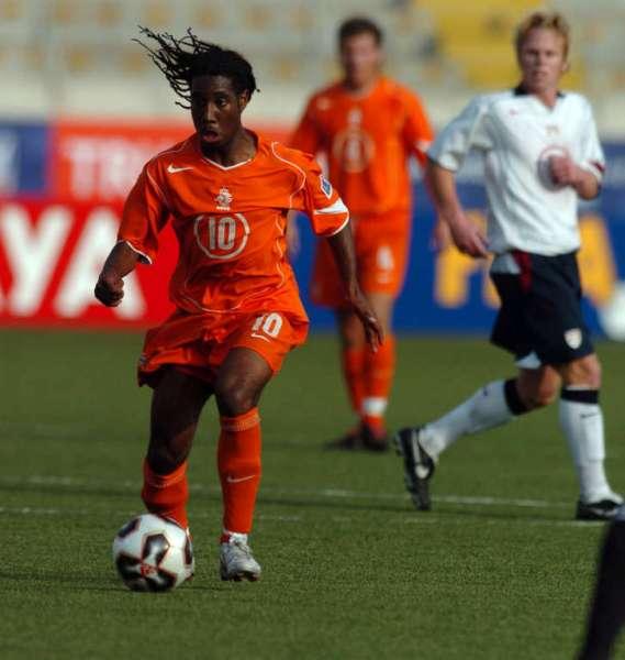 Anita en acción en el Mansiche de Trujillo frente a Estados Unidos por el Mundial Sub-17 jugado en el país en 2005 (Foto: files.datawire.nl)