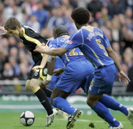 Jugando con el Cardiff la final de la FA Cup ante el Portsmouth (Foto: dailymail.co.uk)