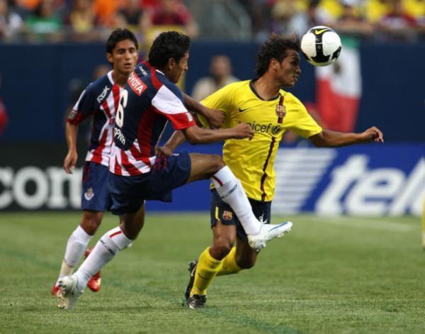 Frente al Chivas USA por la pretemporada (Foto: Eurosport)