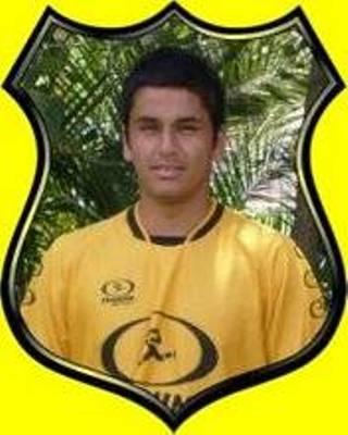 Con la camiseta de San Luis de Quillota, al que defiende en la Primera B chilena (Foto: aguantekanario.blogspot.com)