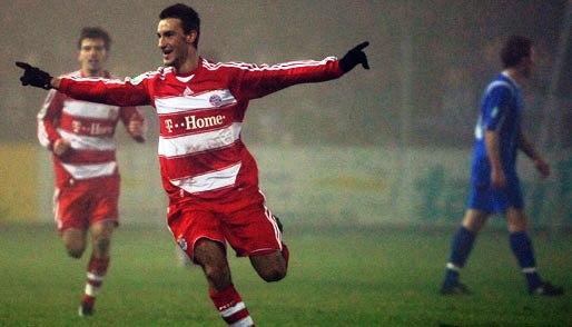 Con la reserva del Bayern supo, incluso, anotar dos goles (Foto: spox.com)