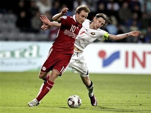 La joven promesa llegó a estar en la nómina del Mundial 2010 por Dinamarca. En el Mundial, ganó una experiencias invalorable (Foto: AP)