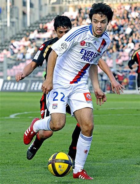 Desde su debut en el primer equipo del Lyon en 2008, el juego de Grenier deslumbra en la liga francesa (Foto: leprogres.fr)