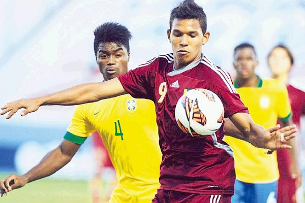 Andrés Ponce deslumbró con la vinotinto desde la Sub-15: hoy, con la Sub-17, es figura excluyente y espera brillar en el Mundial de la categoría (Foto: panorama.com.ve)