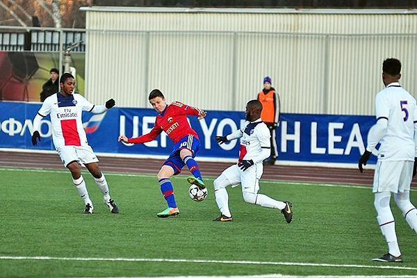Golovin tuvo un gran desempeño en la Champions League juvenil (Foto: Egor Krutelev)