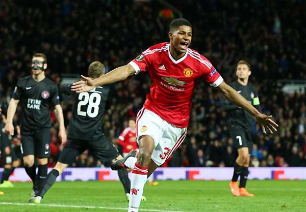 Una nueva esperanza de gol se abre en el plantel de Manchester United con Marcus Rashford (Foto: AP)