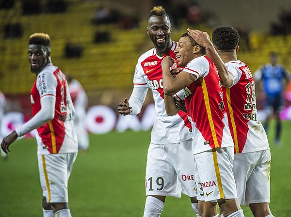 Mbappe-Lottin fue el jugador más joven en anotar en la historia de AS Monaco. (Foto: prensa AS Monaco)