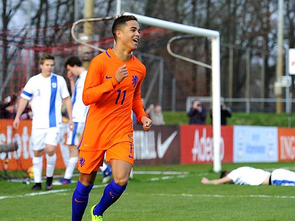 La esperanza del ataque holandés está puesta en él. (Foto: prensa KNVB)