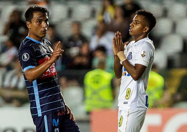 Aunque muchos lo sugieren, Rodrygo y Neymar muestran características distintas. (Foto: Getty Images)