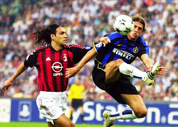 Milan e Inter se encontraron pocas veces en Champions, pero fueron partido muy emotivos. (Foto: AFP)