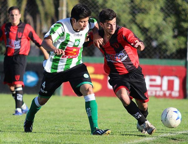 El San Lorenzo de Mar del Plata, el equipo rojinegro con el que comenzó todo para Fidel Voglino (Foto: Facebook)
