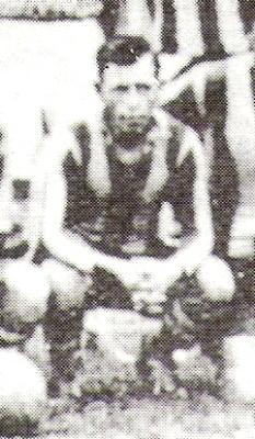 Bulnes, el primer 'Gato' conocido del fútbol peruano. (Foto: libro '¡...Arriba Alianza!', Teodoro Salazar Canaval)