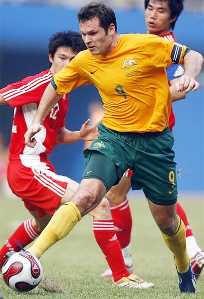 Mark Viduka fue el emblema de los goles de Australia por más de una década en la que defendió a su selección (Foto: abc.net.au)