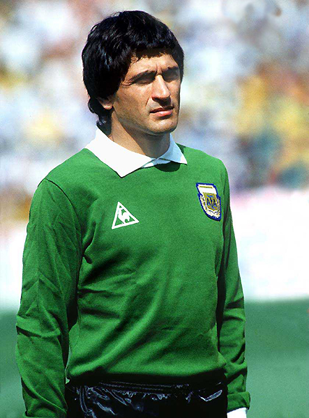 Ubaldo Matildo Fillol logró el título mundial con Argentina en 1978 (Foto: revista El Gráfico)